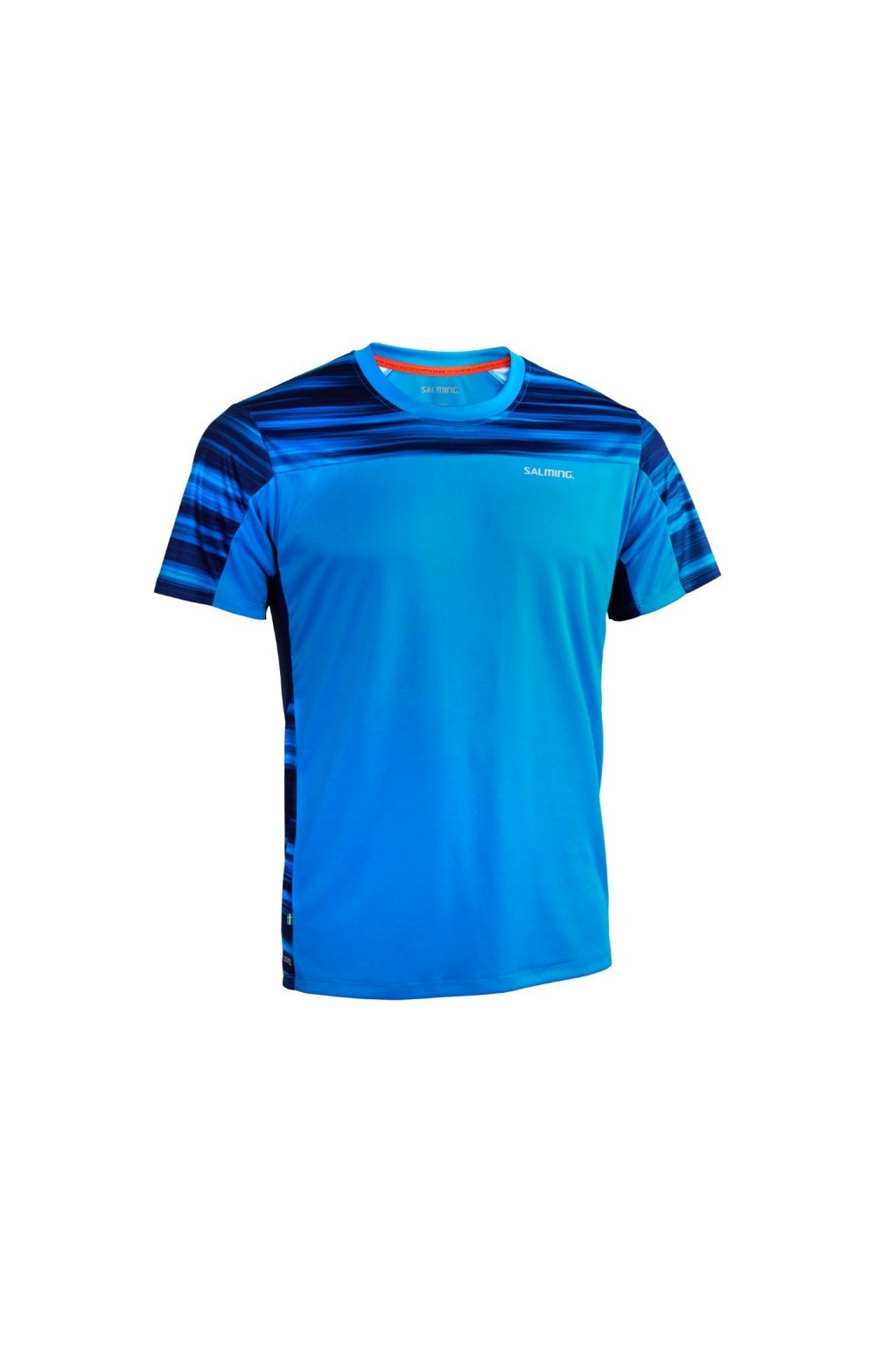 salming motion tee men blue xxl