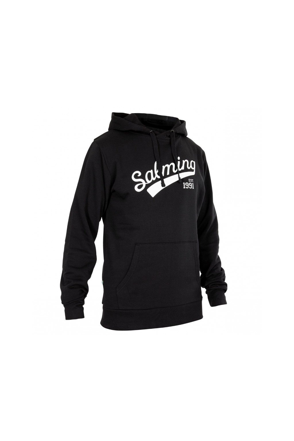 salming logo hood men black xxxl