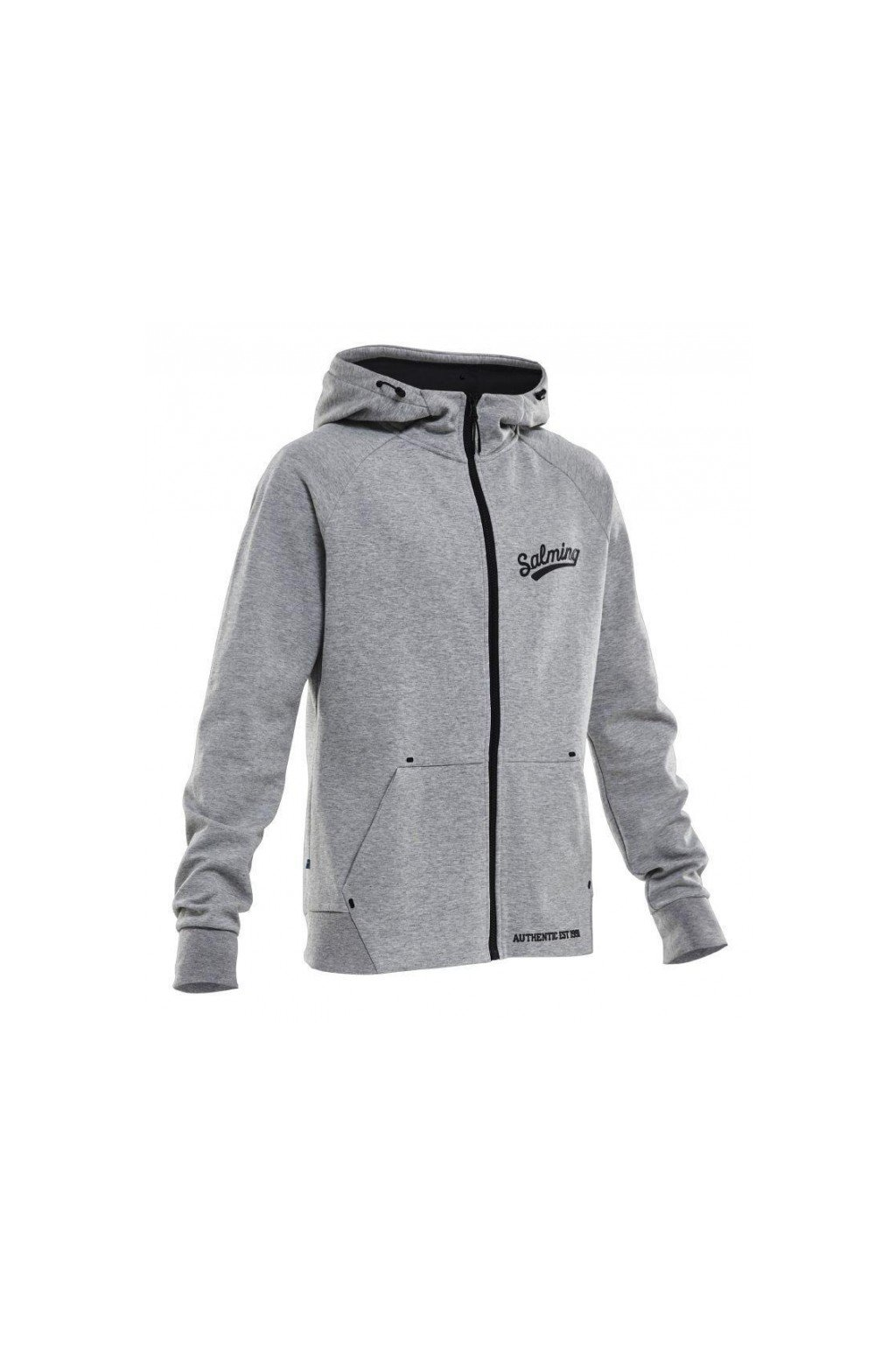 salming prime hood men grey melange xl