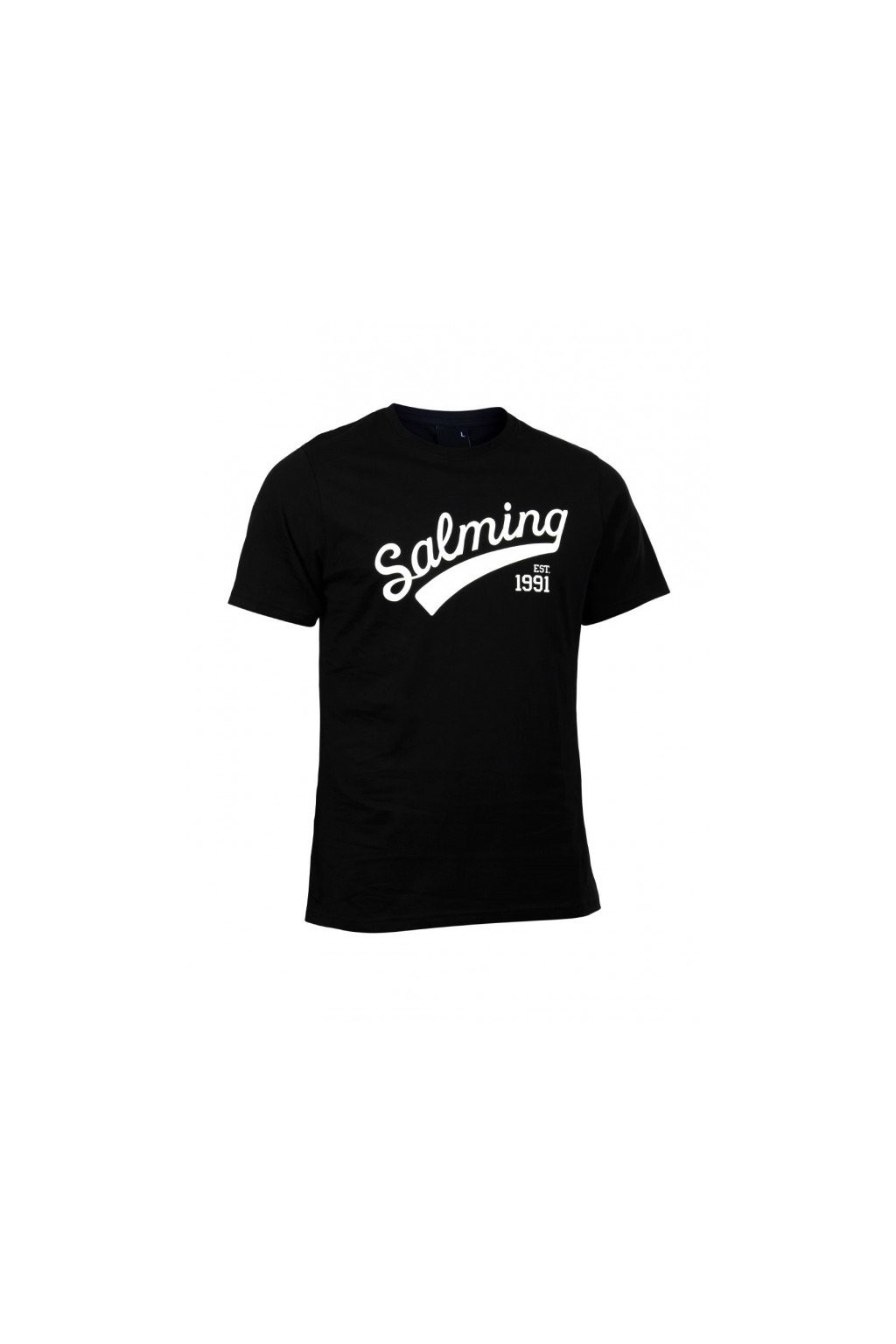 salming logo tee black xxxl