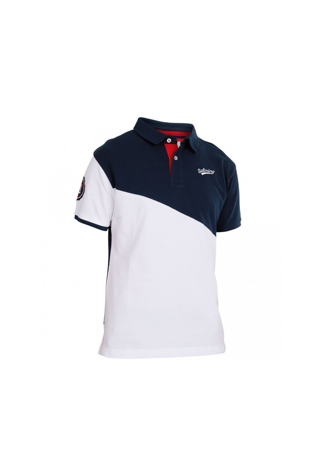 salming oak polo navy white xxl