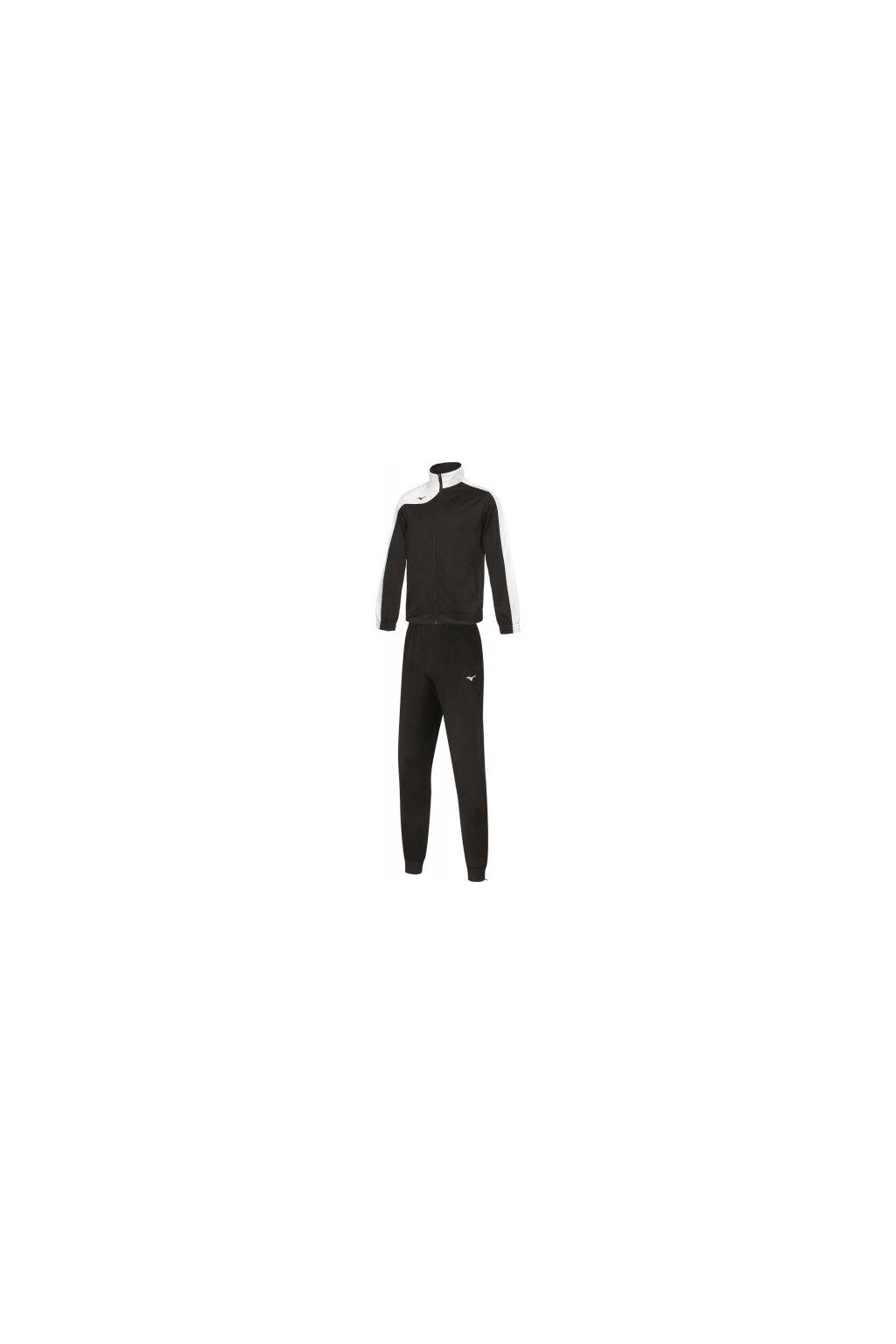 Mizuno Knitted Tracksult Jr/Black/White