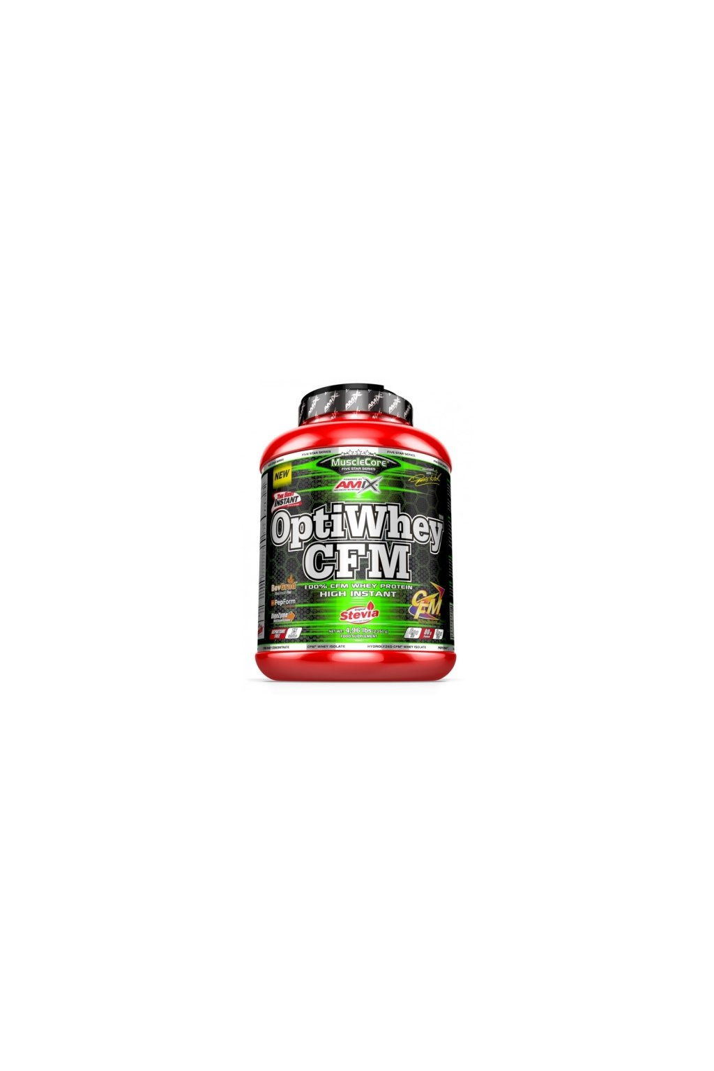 amix musclecore optiwhey cfm instant protein 2250g