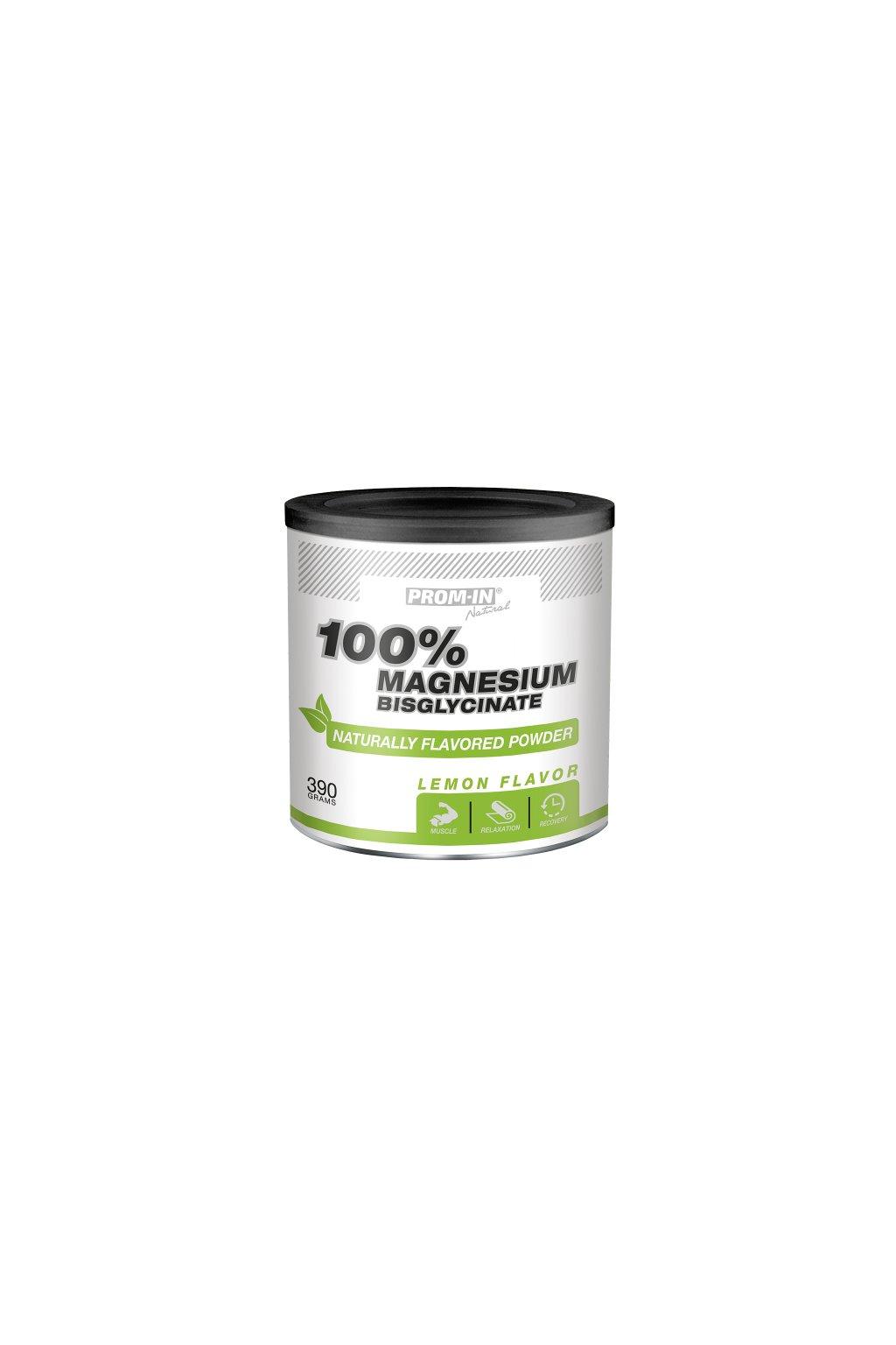 MAGNESIUM BISGLYCINATE 100% CITRON (dóza 390 g)