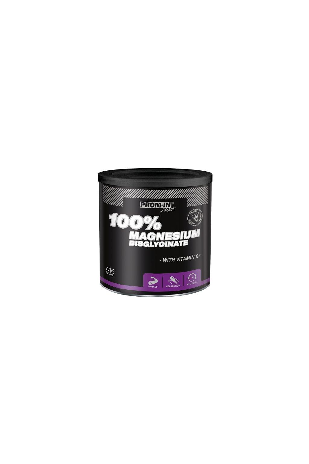 MAGNESIUM BISGLYCINATE 100%  (dóza 416 g)