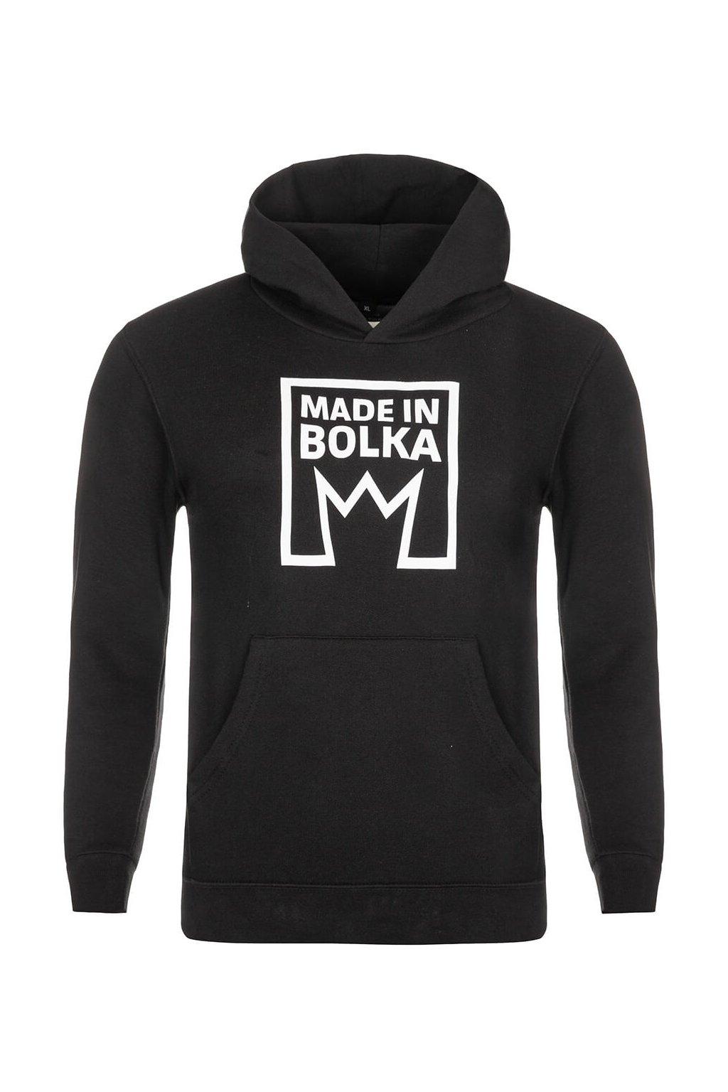 MB011 MADE IN BOLKA MIKINA ČERNÁ