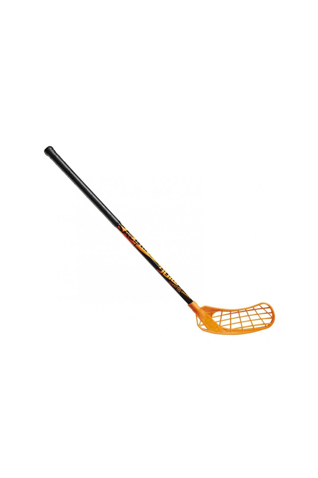 salming quest2 kid black orange 78 r