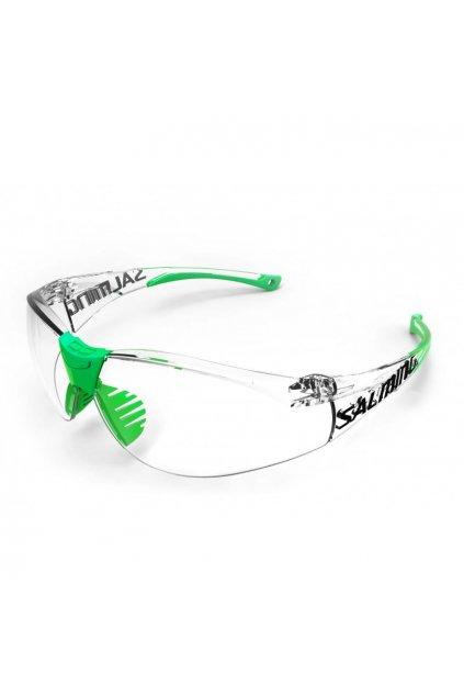 salming split vision jr transparent green