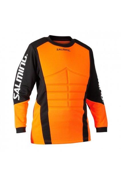 salming atlas jersey jr orange black 128