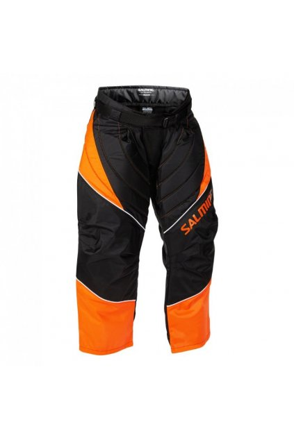salming atlas pant jr orange black 164