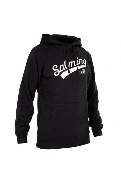 salming logo hood men black xxxl