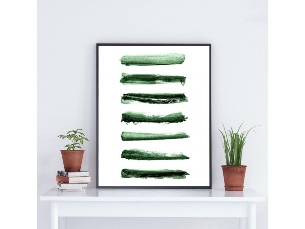 Zelený plakát