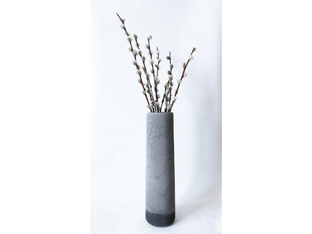 Váza mix grey