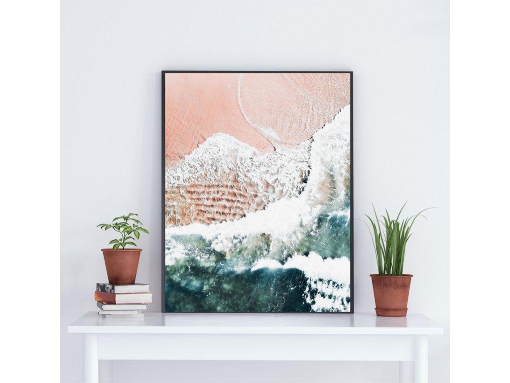Plakát ,,PINK OCEAN,,