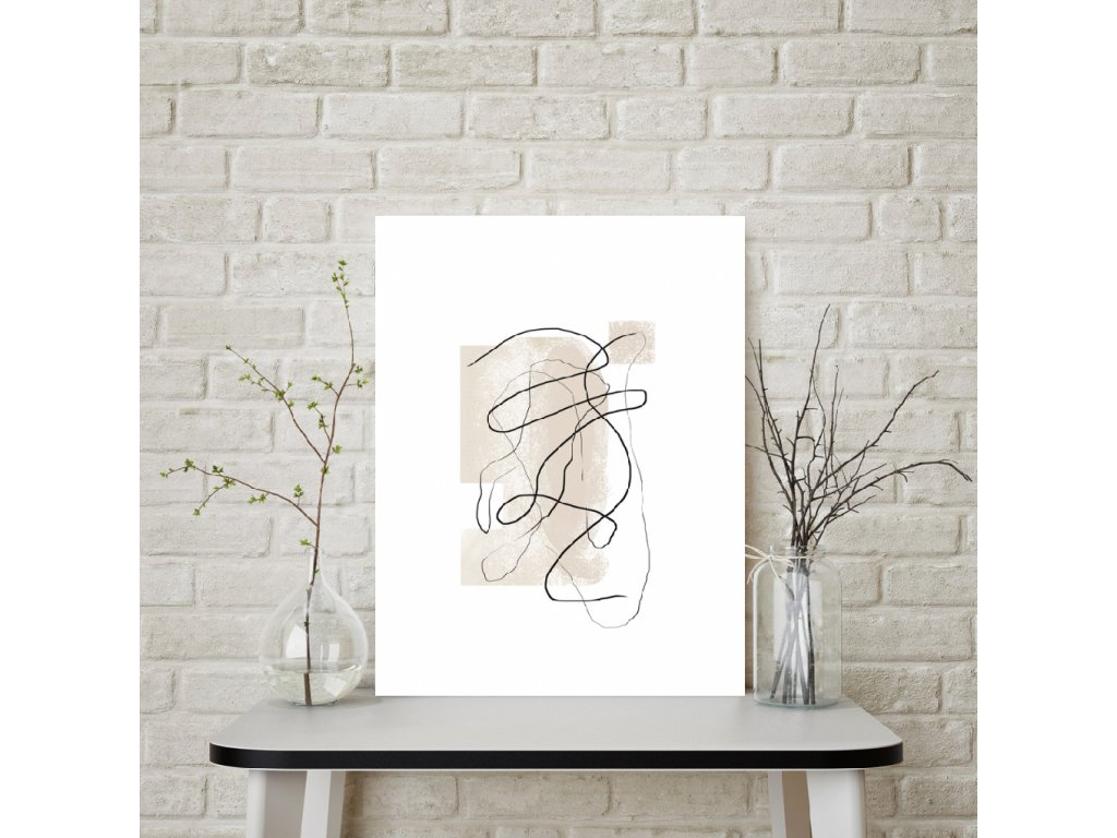 Plakát abstrakce