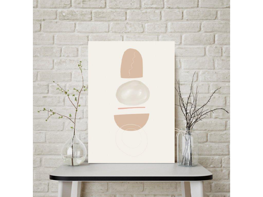 Abstraktní plakát