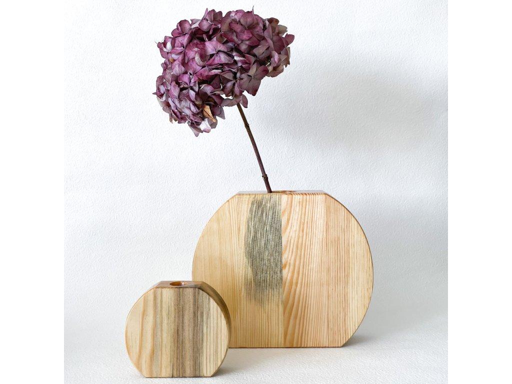Drěvěná váza