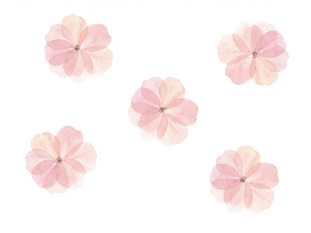 Samolepky na zed kvetiny