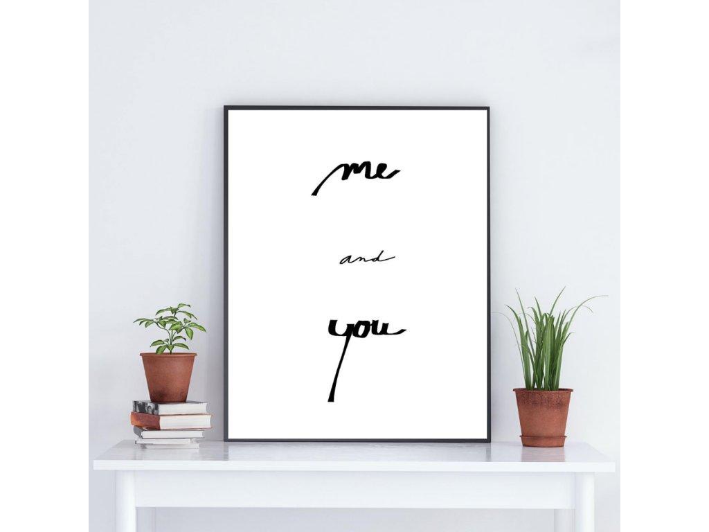 Plakát Já a Ty
