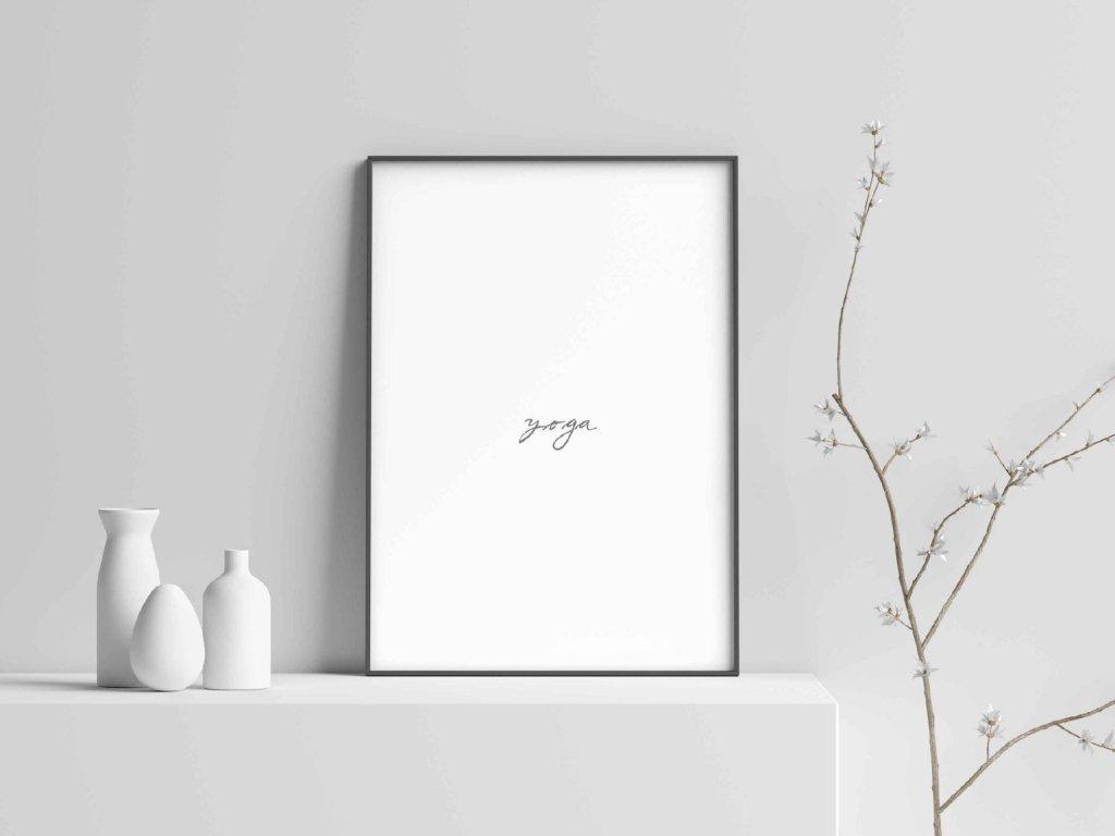 Plakát ,,YOGA,,
