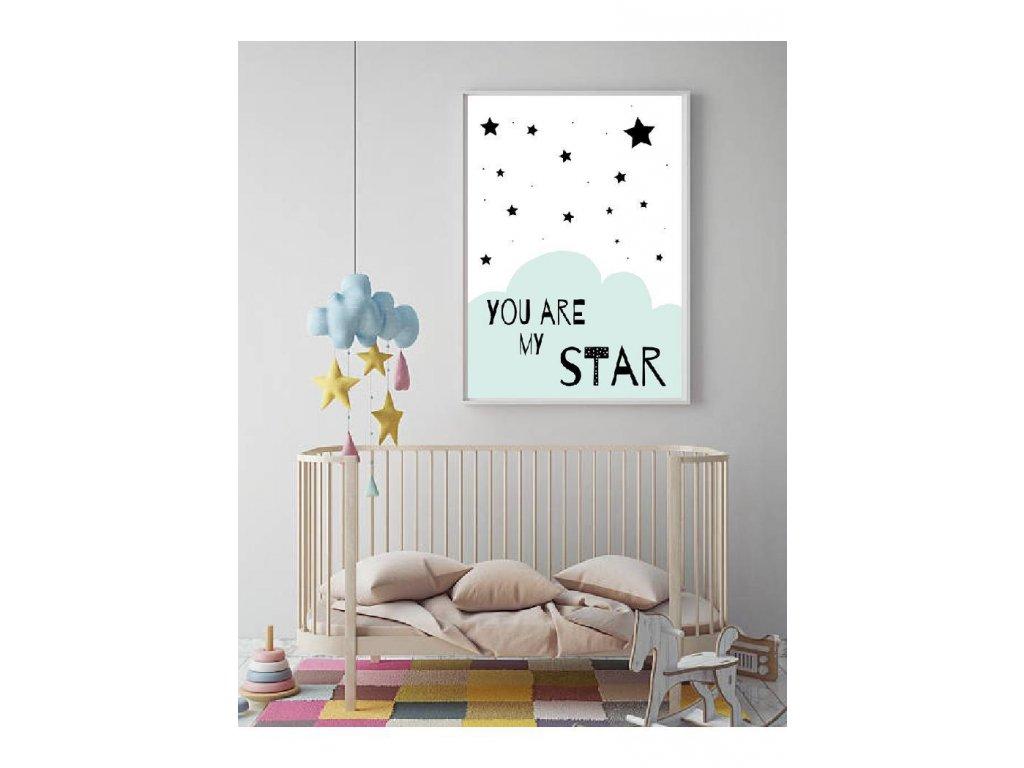 Děttský plakát scandi