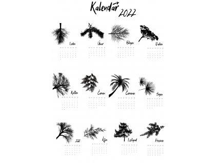 12stránkový kalendář 2020