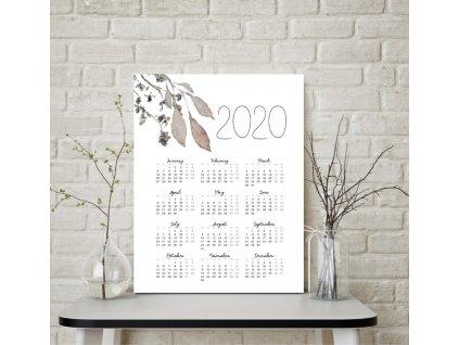 Kalendář VELVET