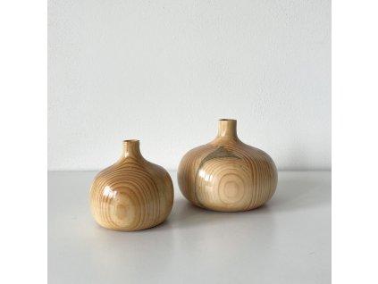 Dřevěně vázy