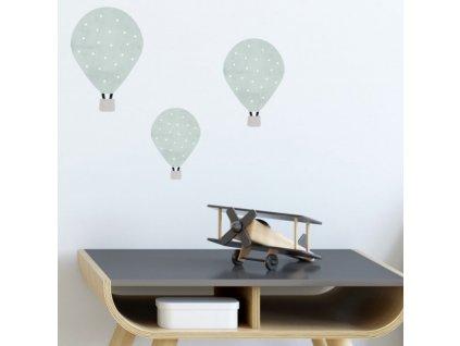 Samolepky letajicí balóny