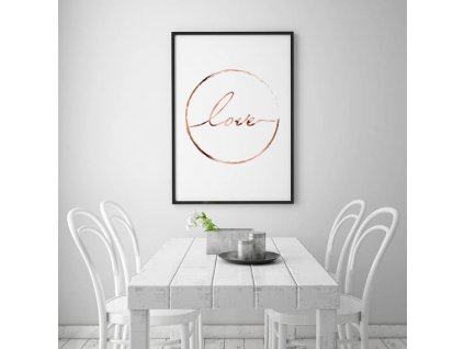 Plakát LOVE
