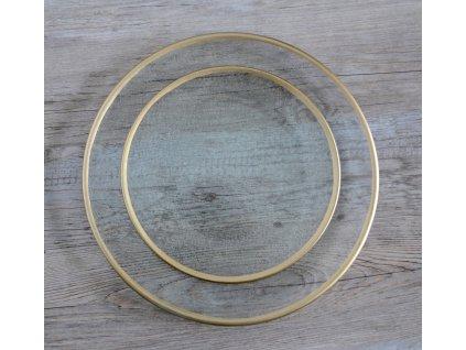 Talíř GOLD,  20cm
