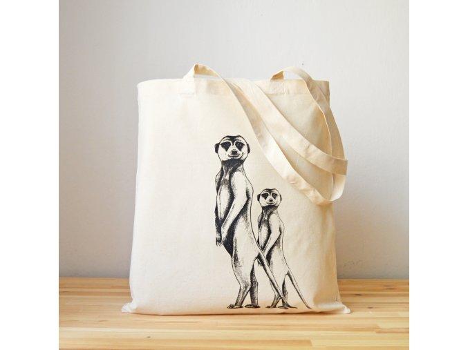 Plátěnka se surikatami