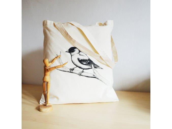 Plátěnka s vrabečkem