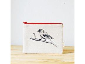 Taštička s vrabčákem I - zimní edice