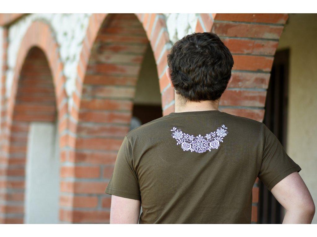 Pánské triko s lidovým motivem - KLÁSEK
