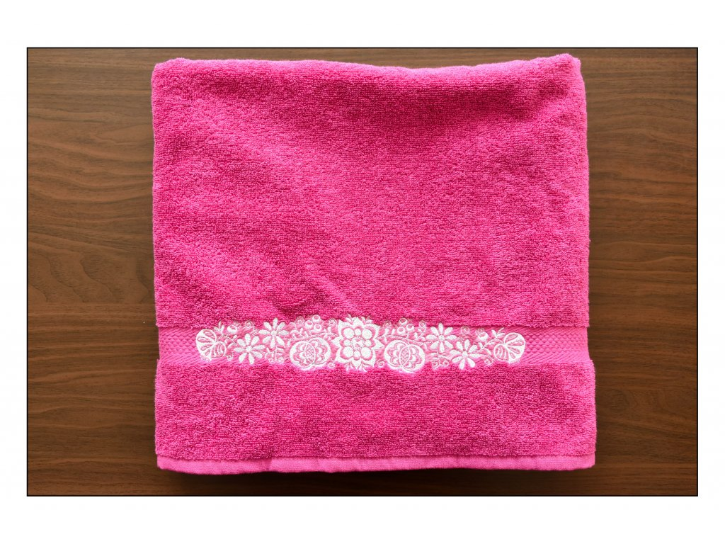 Slovácký vyšívaný ručník Izidor