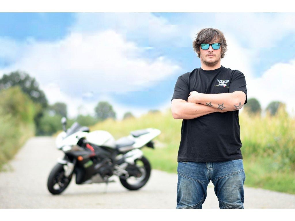 Pánské triko Bikers Help
