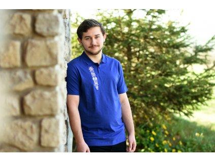 Pánské triko s límečkem - Polokošile Píščala