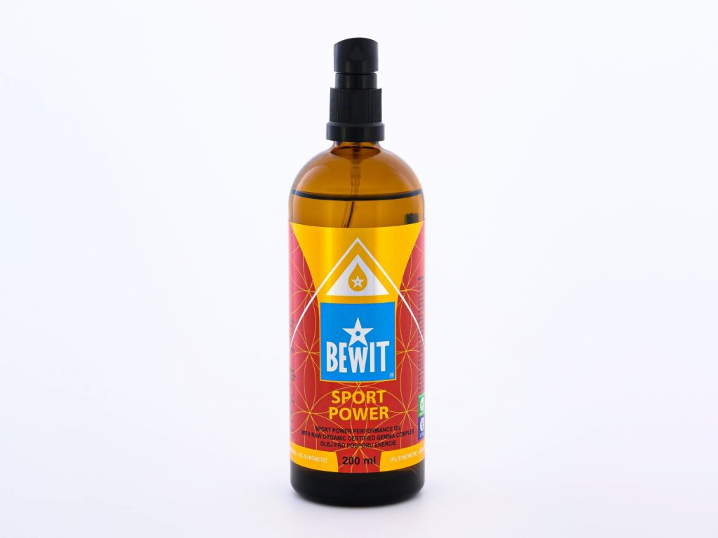 bewit r sport power 200 ml olej pro podporu energie sport power thumbnail 1593421647 bewit holistic cosmetics SPORT POWER 1