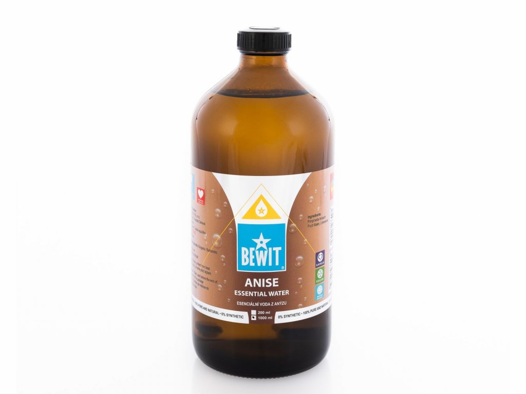 esencialni voda z anyzu 100 prirodni hydrosol esencialni voda z anyzu anyz bedrnik anyz pimpinella anisum thumbnail 1614243707 Essentiol Water Anise 1000 ml