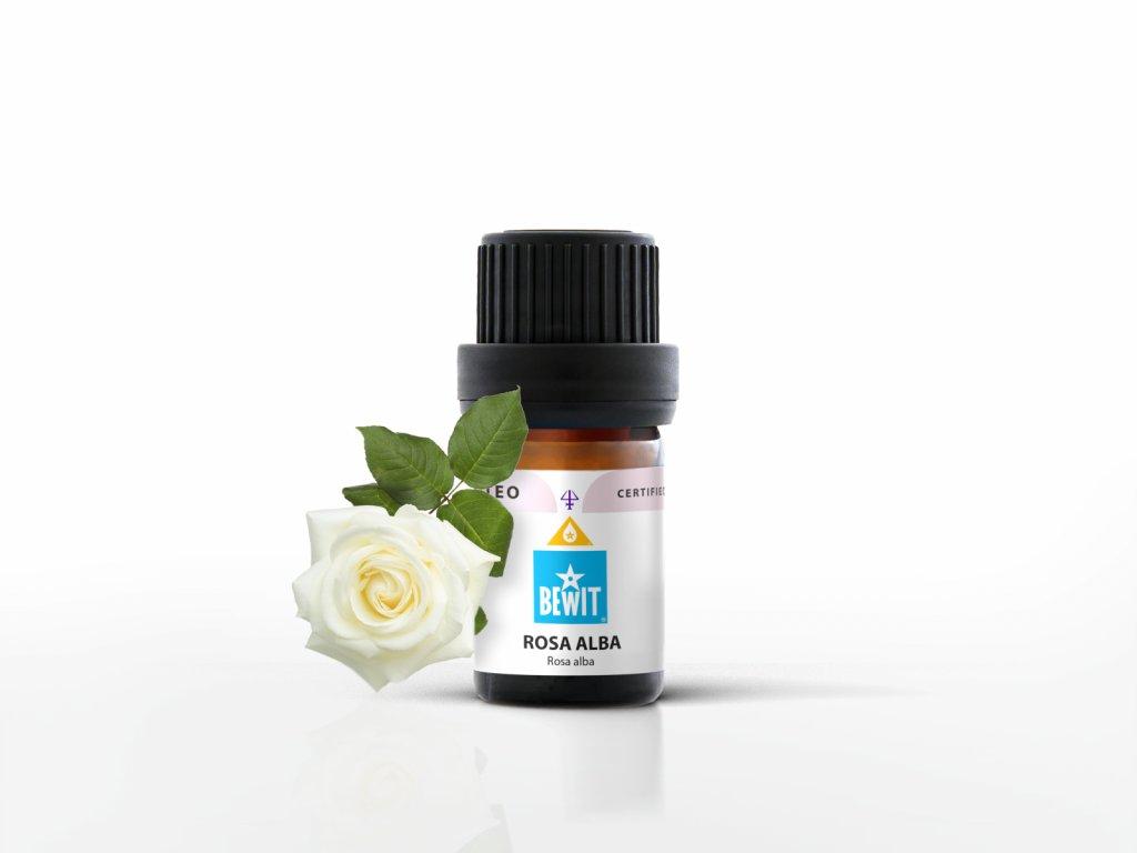 esencialni olej bewit ruze bila rosa alba 5ml