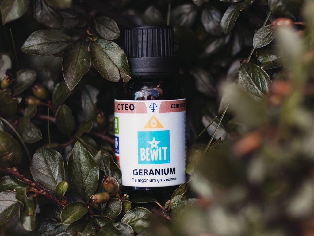 esencialni olej bewit geranie