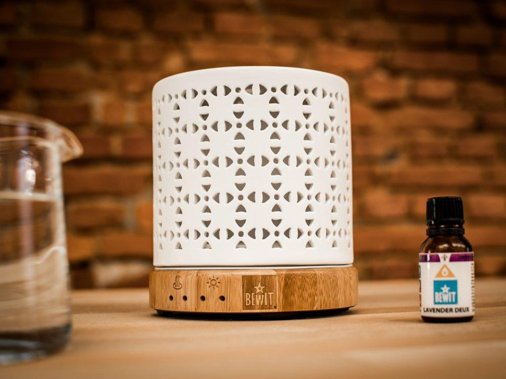 aroma difuzer ultrasonicky aroma lampa bamboo mosaic keramicky difuzer bewit difuzery difuzer 1