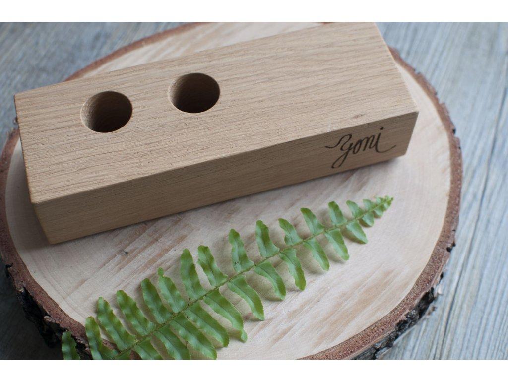 Yoni drevený stojan 3