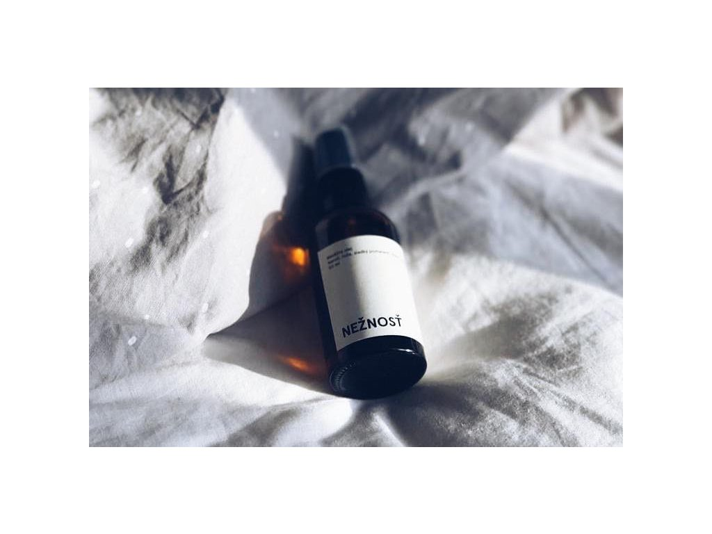 Masážny olej %22NEŽNOSŤ%22 prírodný telový olej Mylo