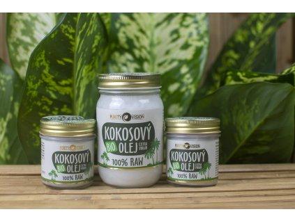 Kokosový olej BIO 100 % RAW Purity Vision 2