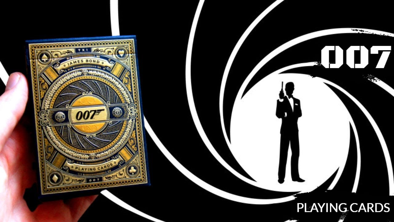 RECENZE: 007 Playing Cards!