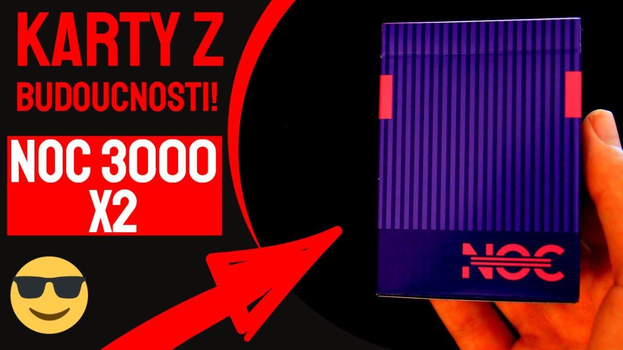 NOC3000X2: Karty z budoucnosti!