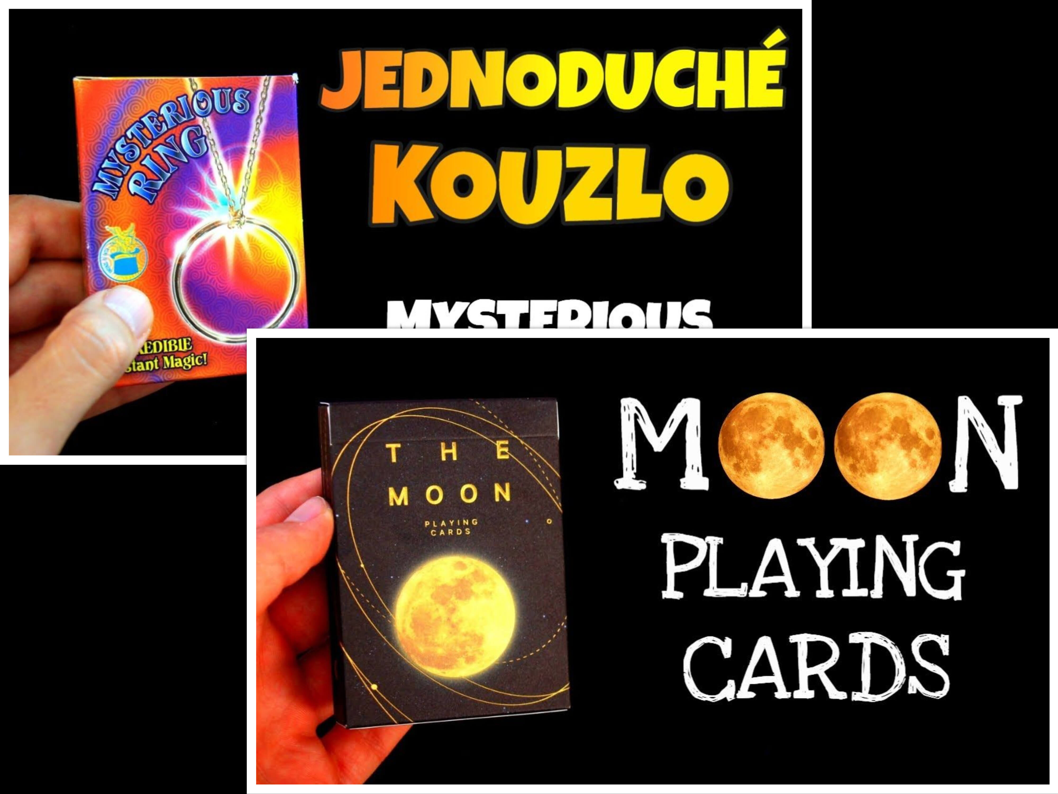 RECENZE: Karty MOON + Kouzlo Mysterious Ring