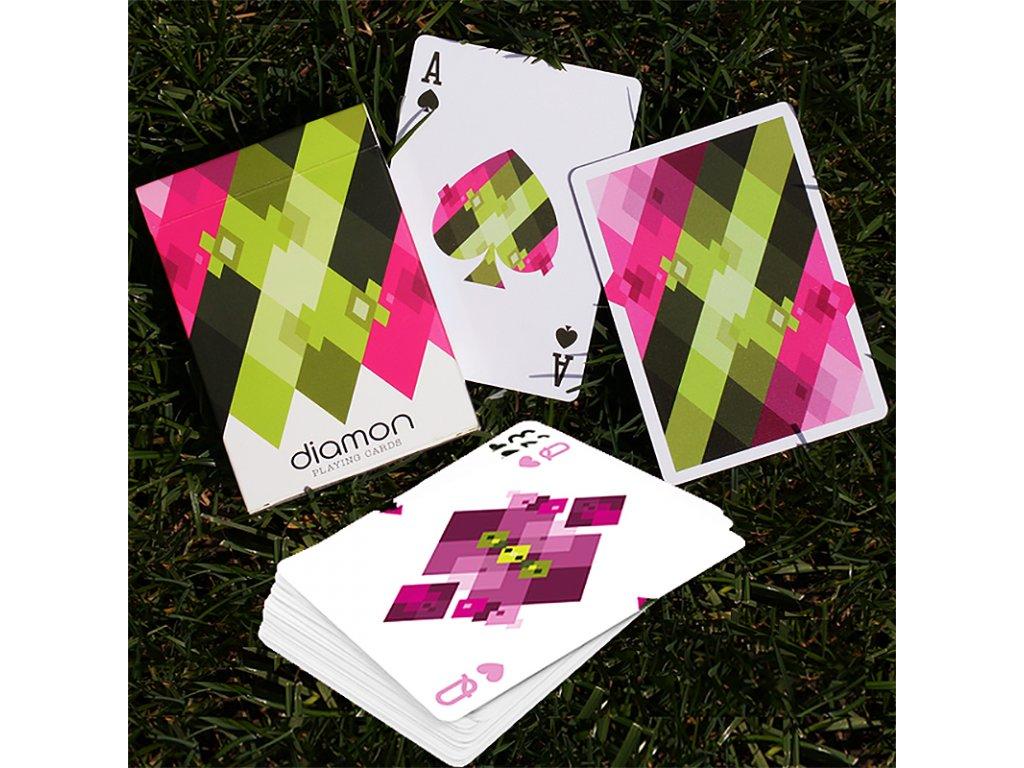 RECENZE: Diamon playing cards - Svěží karty